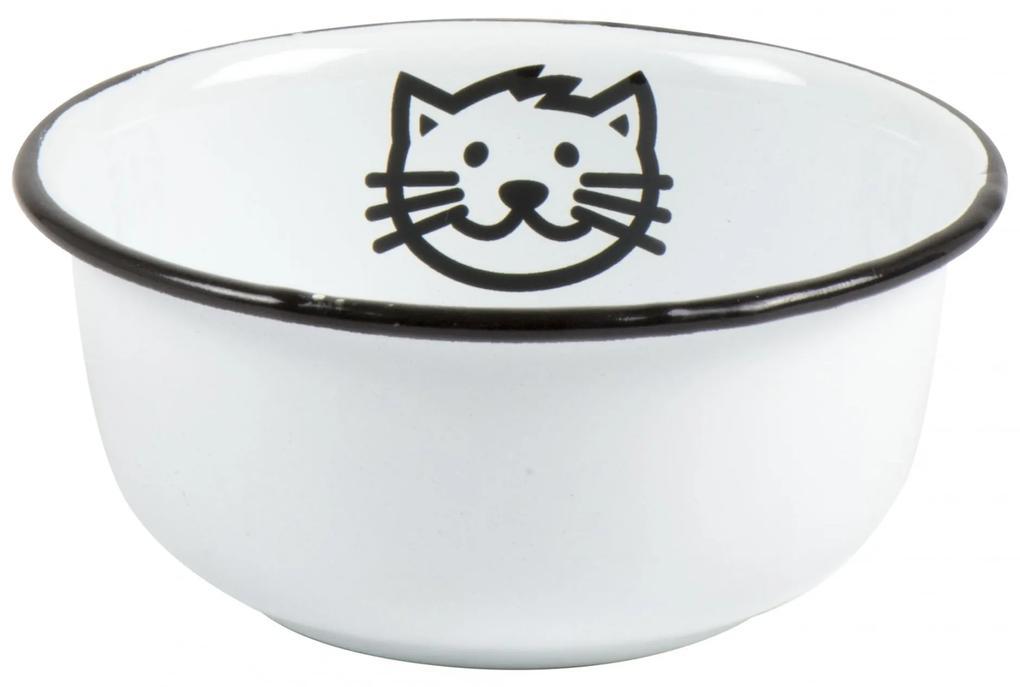 IB LAURSEN Menšia smaltovaná miska Cat