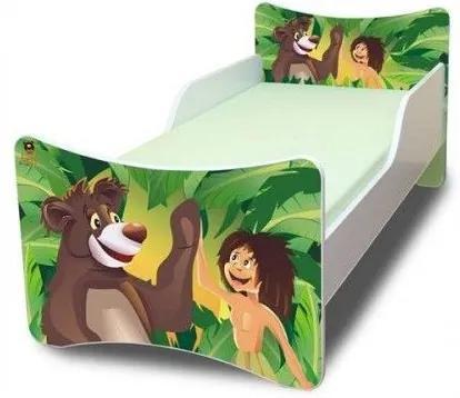 MAXMAX Detská posteľ 160x80 cm - Mauglí 160x80 pre chlapca NIE