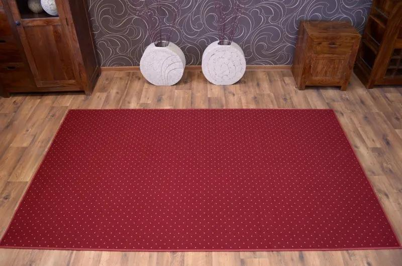 3kraft Kusový koberec AKTUA Mateio červený