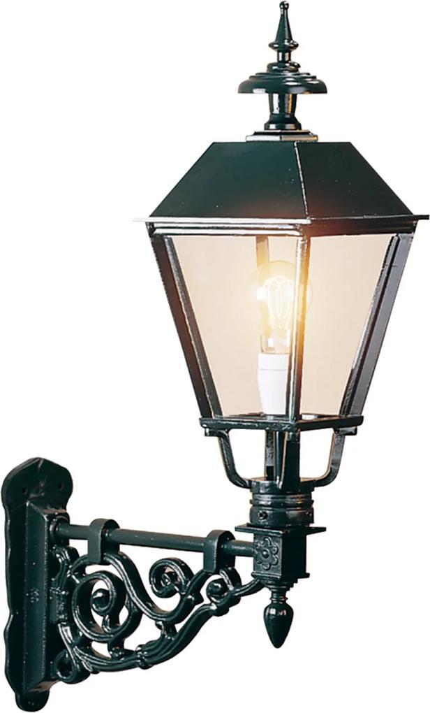 Vonkajšie nástenné svietidlo Egmont, čierne