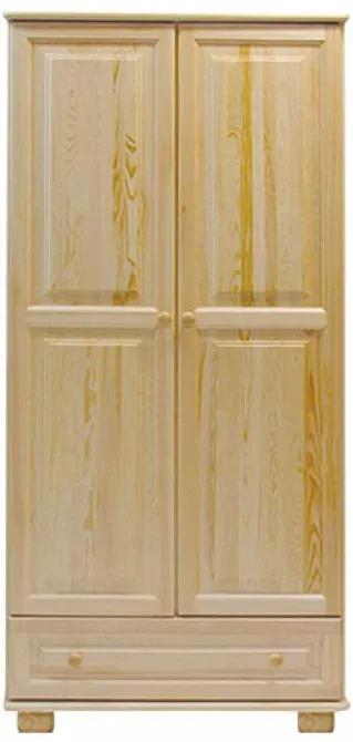 AMI nábytok Skříň věšák olše šířka 80 cm