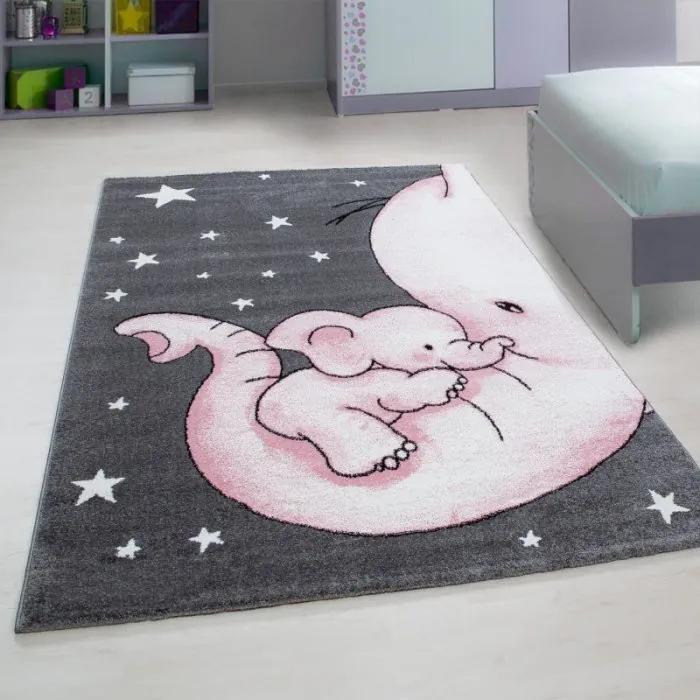 Ayyildiz koberce Kusový koberec Kids 560 pink - 80x150 cm