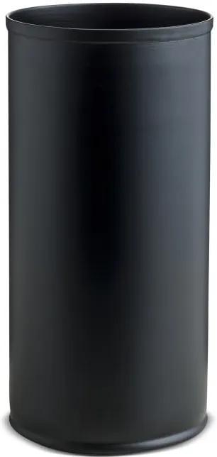 Čierna kovová váza NORDSTJERNE, ⌀ 10 cm