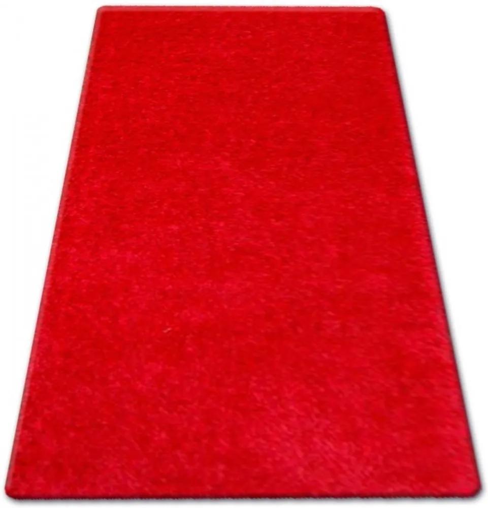 Kusový koberec Shaggy Narin červený, Velikosti 100x200cm