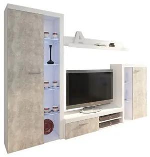 Obývacia stena OLIMP betón
