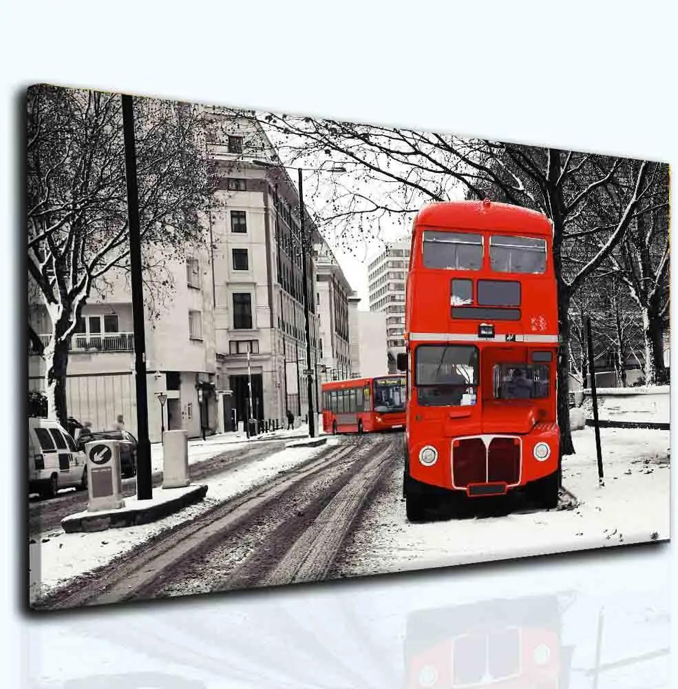 InSmile Obraz double decker 90x60 cm