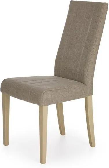 Moderná jedálenská stolička Dogo, hnedá