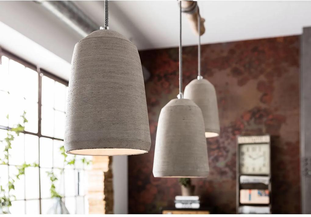 CONCRETE elegantný luster Kare Design