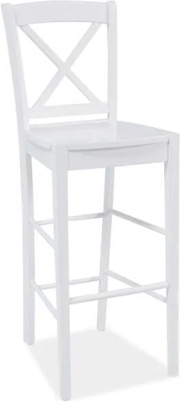 Najlacnejsinabytok CD-964 barová stolička, biela