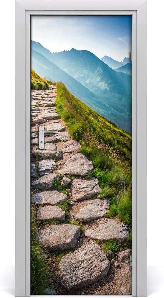 Fototapeta na dveře samolepící Horská stezka