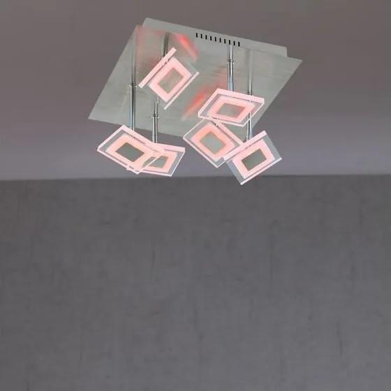 Stropné svietidlo WOFI Megan matný nikl 9098.07.54.6000