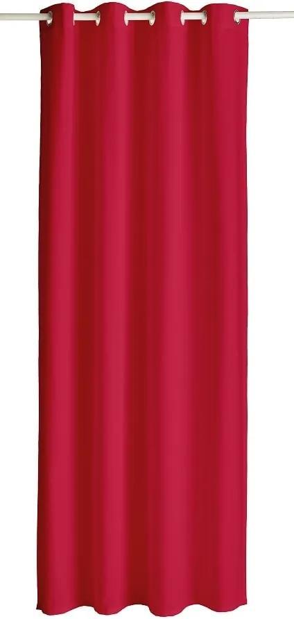 TODAY Zatemňovací závěs s oky 140x260 cm Pomme d'amour - červená