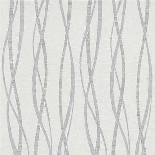 Vliesové tapety na stenu Graphic 5987-01, rozmer 10,05 m x 0,53 cm, vlnovky modro-sivé, Erismann