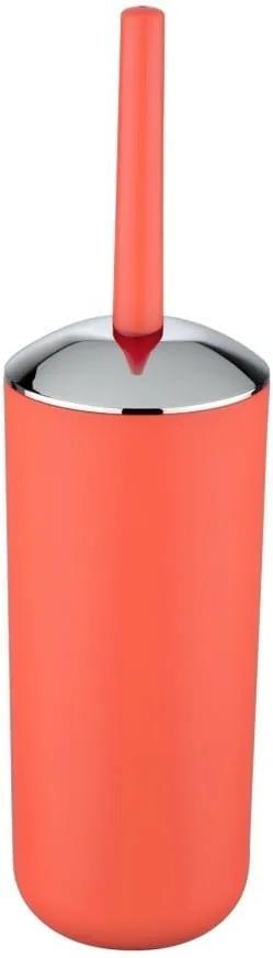 Korálovočervený WC kefa Wenko Brasil