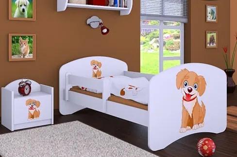 MAXMAX Detská posteľ bez šuplíku 160x80cm PSÍK