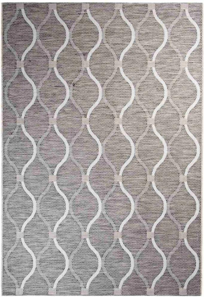 Vonkajší kusový koberec Hilery béžový, Velikosti 80x150cm