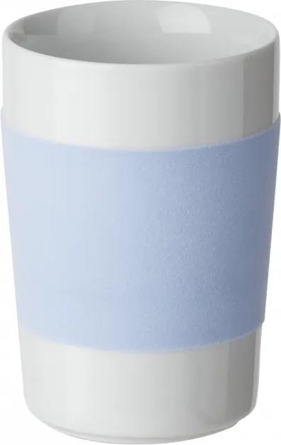 Kahla - Veľký pohár s ľadovo modrým pásom Kahla touch! 350ml (K100100)