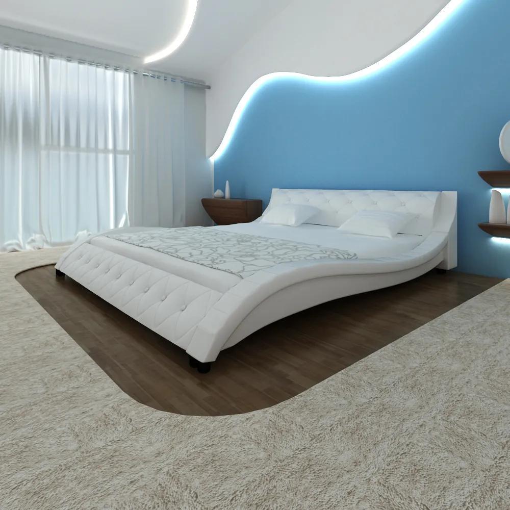 Polstrovaná postel TOKIO 180x200cm bílá