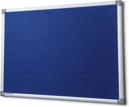Textilná tabuľa SICO 200 x 100 cm modrá