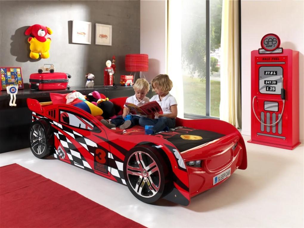 Detská izba pre chlapca SCNS200R-SCGTCR - Detská posteľ: 228,6x111x60,2 cm