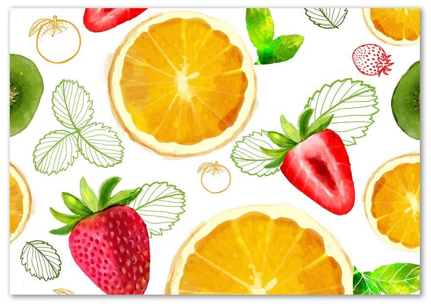 Foto obraz sklo tvrdené Ovocie pl-osh-100x70-f-81029625