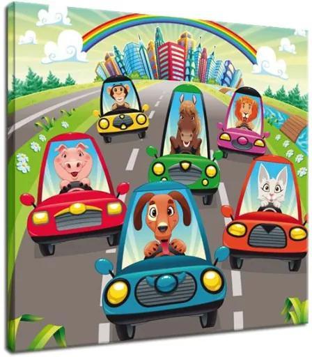 Obraz Cestná premávka