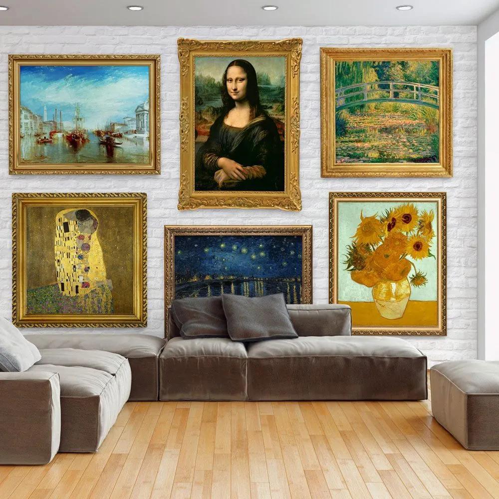 Fototapeta - Wall of treasures 300x210