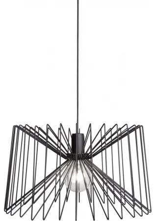 SPIDER lampa Čierna