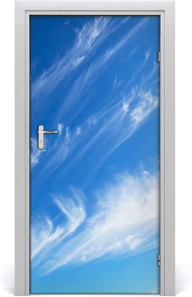 Fototapeta na dvere  mraky na nebi