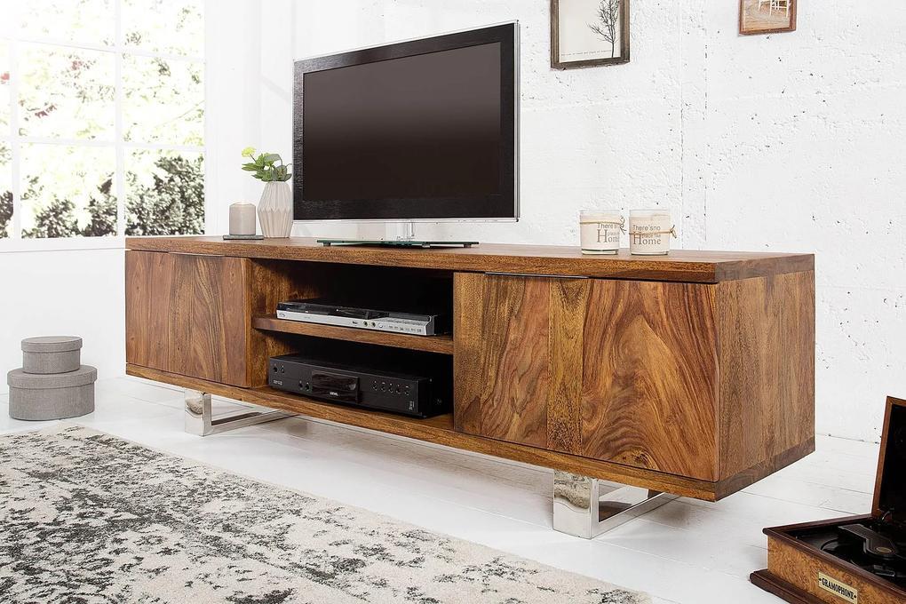 Luxusný TV stolík Falco z masívu