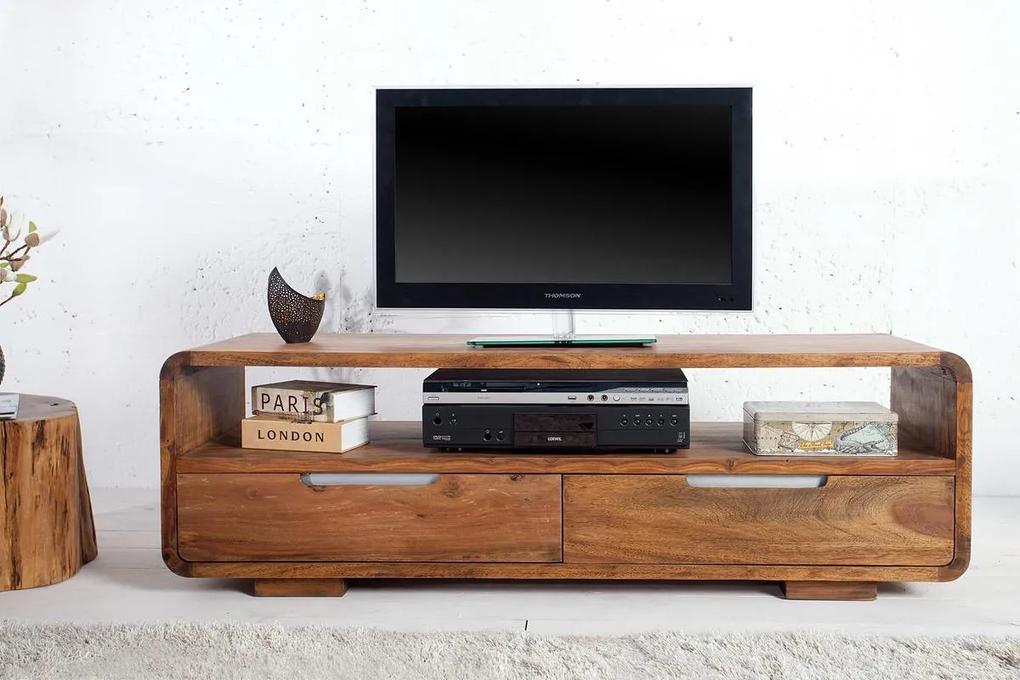 Luxusný TV stolík z masívu Island