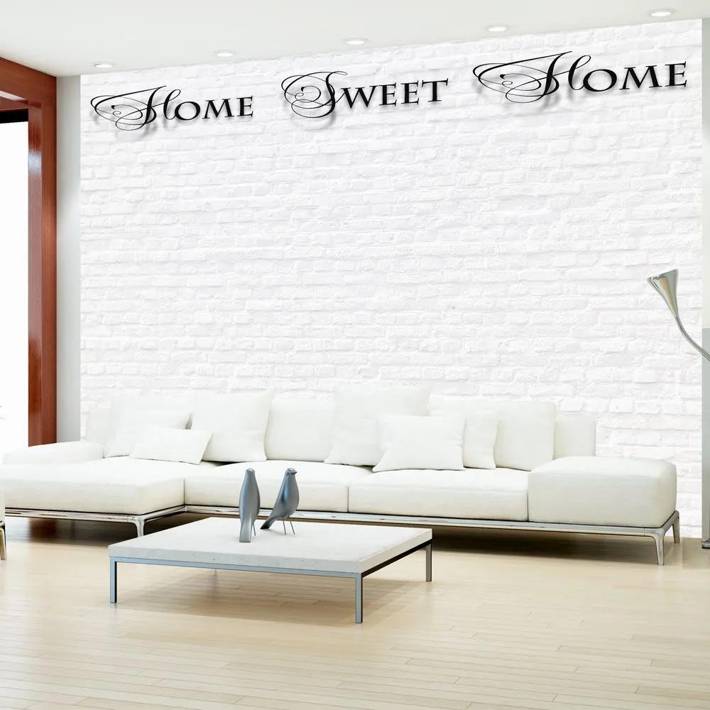 Fototapeta - Home, sweet home - white wall 300x210