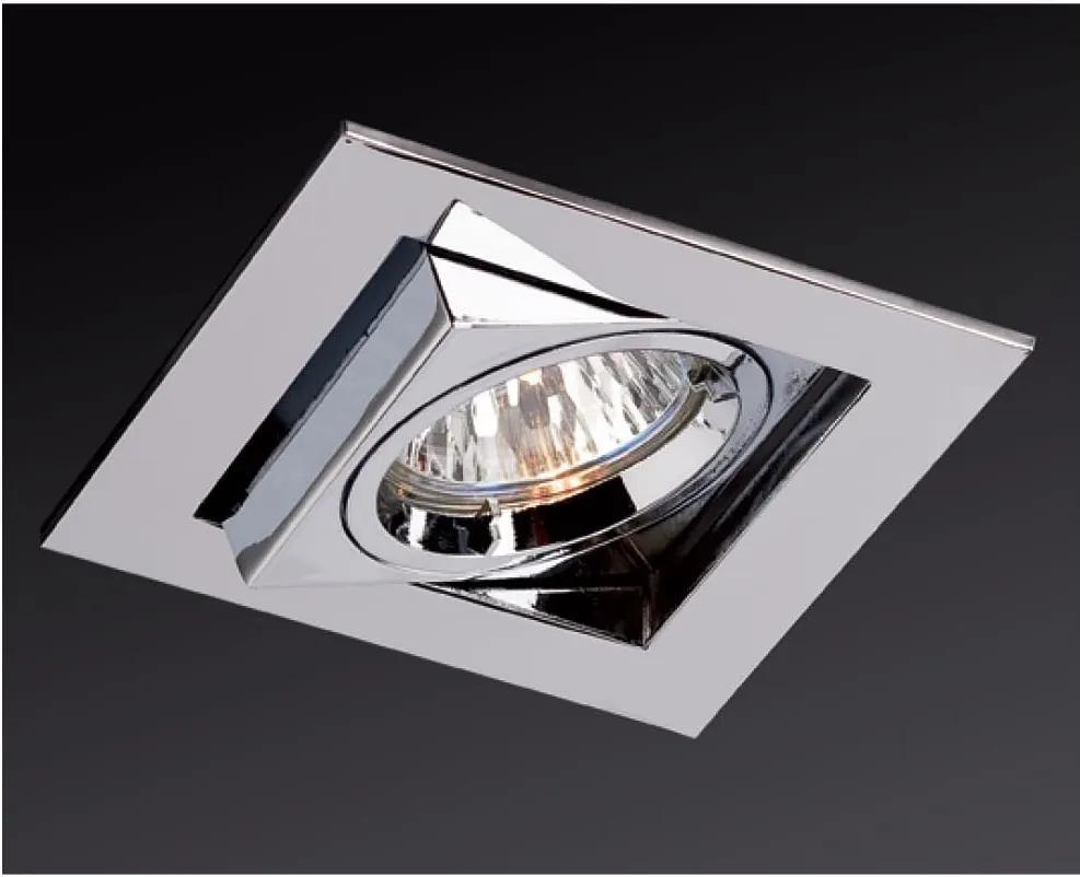 Zápustné - podhľadové svietidlo REDO ELC 2374 CHROME GU5.3 70015