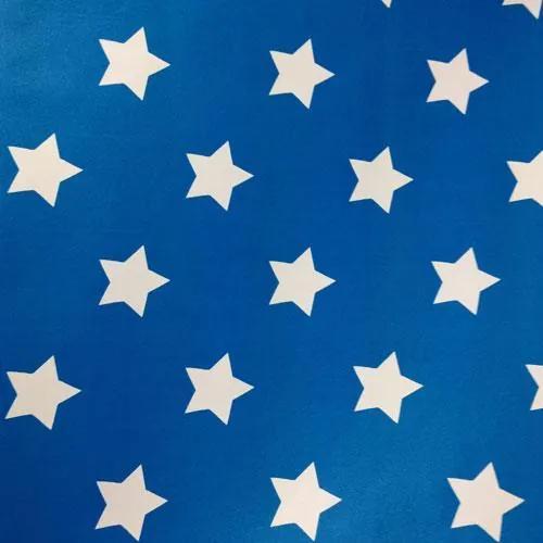 Samolepiace fólie hviezdičky modrý podklad, metráž, šírka 45cm, návin 15m, GEKKOFIX 13418, samolepiace tapety