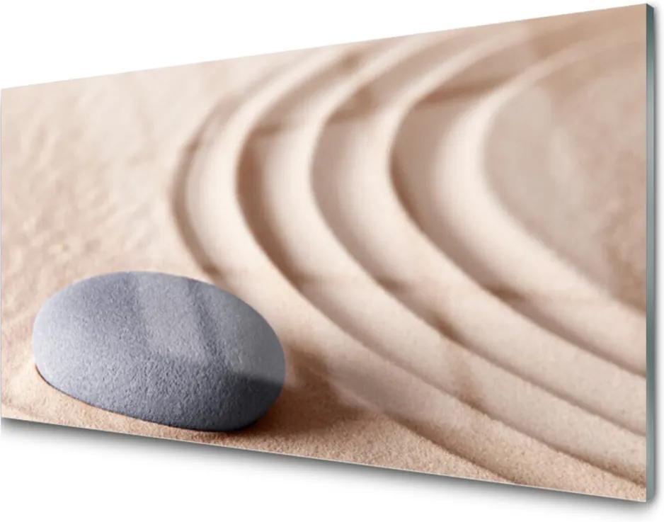 Obraz na skle Skleněný pískovec umění