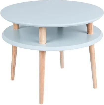 Svetlosivý konferenčný stolík Ragaba UFO, Ø 57 cm
