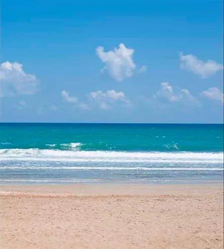 Vliesové fototapety, rozmer 225 cm x 250 cm, prázdna pláž, DIMEX MS-3-0210