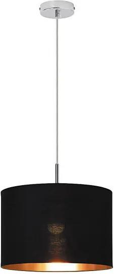 Rábalux Monica 2526 Závesné Svietidlá 1-Ramenné čierny kov E27 1X MAX 60W IP20