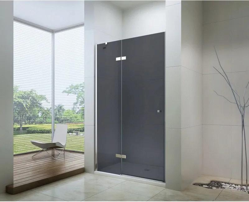 Mexen ROMA sprchové otváracie dvere 80 cm, šedá, 854-080-000-01-40