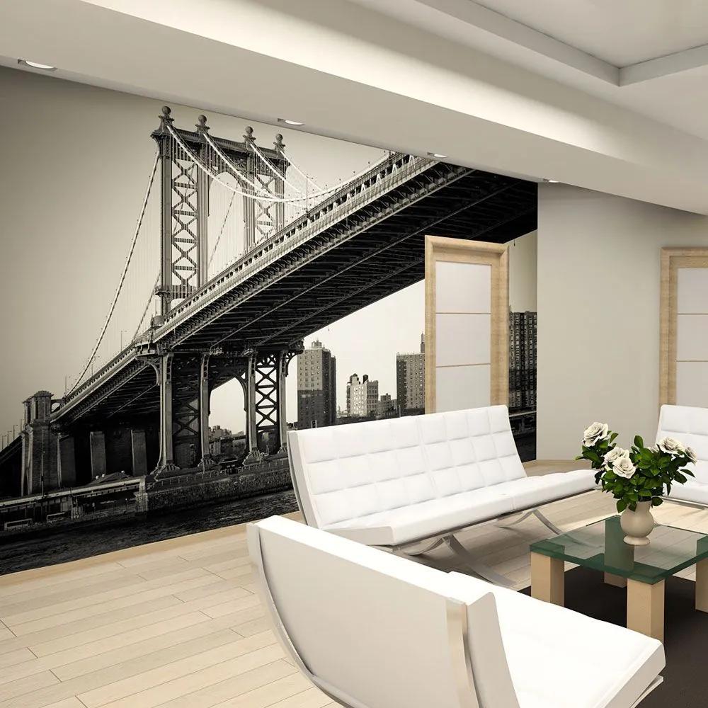 Fototapeta - Manhattan Bridge, New York 200x154