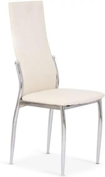 Jedálenská stolička Morgan krémová