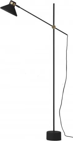 Stojací lampa MR Frandsen, černá Frandsen lighting 93700