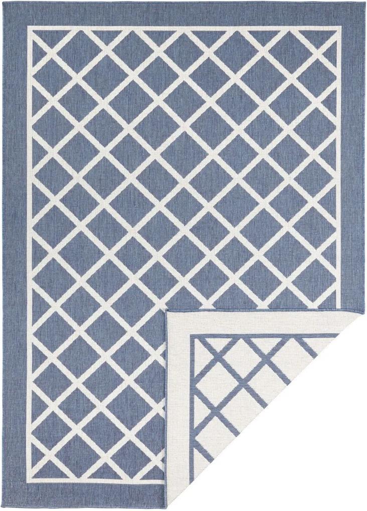 Bougari - Hanse Home koberce AKCE: 80x350 cm Kusový koberec Twin Supreme 103426 Sydney blue creme - 80x350 cm