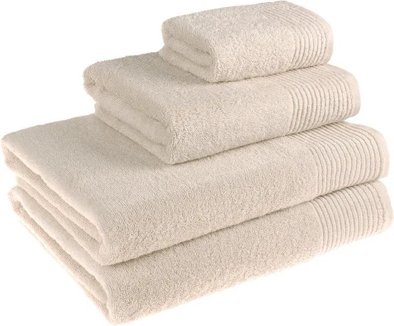 Škodák Froté uterák / osuška Rita svetlo béžová - Malý uterák 30 x 50 cm