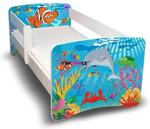 MAXMAX Detská posteľ 180x90 cm - OCEÁN II 180x90 pre všetkých NIE