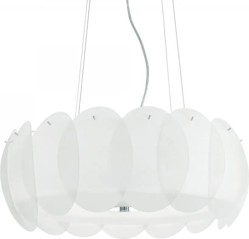 Ideal Lux 090481 luster Ovalino Bianco 8x60W   E27