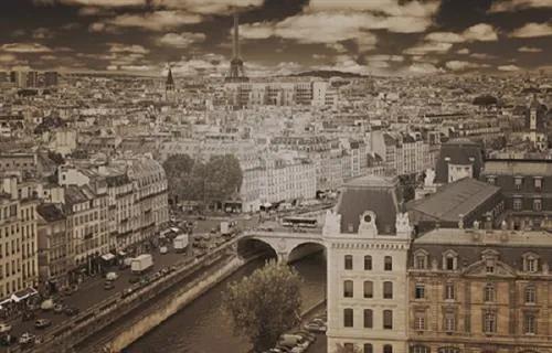 Luxusné vliesové fototapety, rozmer 418,5 cm x 270 cm, Paríž, P+S International CL09C