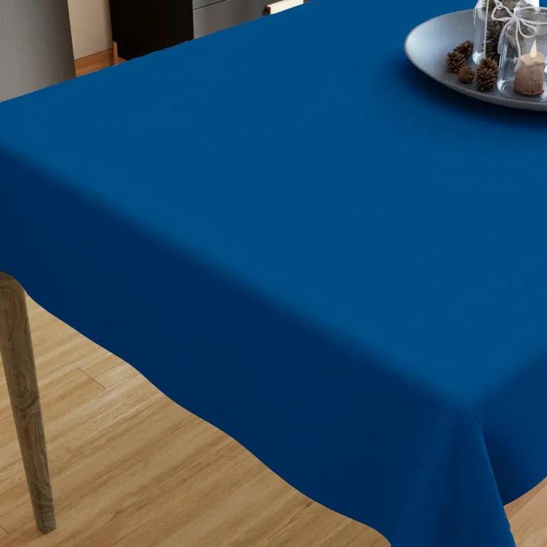 Goldea bavlnený obrus - kráľovsky modrý 120 x 140 cm