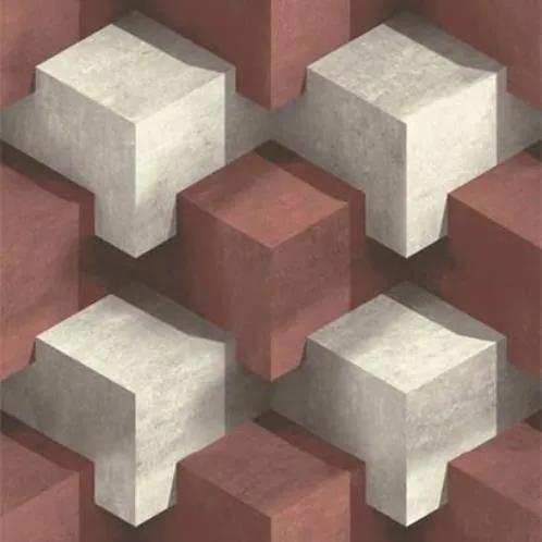 Vliesové tapety na stenu PRISME L20110, rozmer 10,05 m x 0,53 m, Ugepa