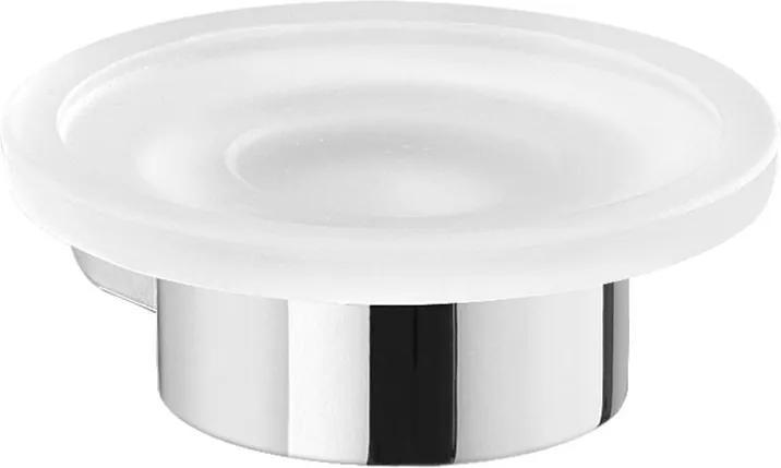 Pirenei PI1113 mydeľnička, chróm/sklo satin